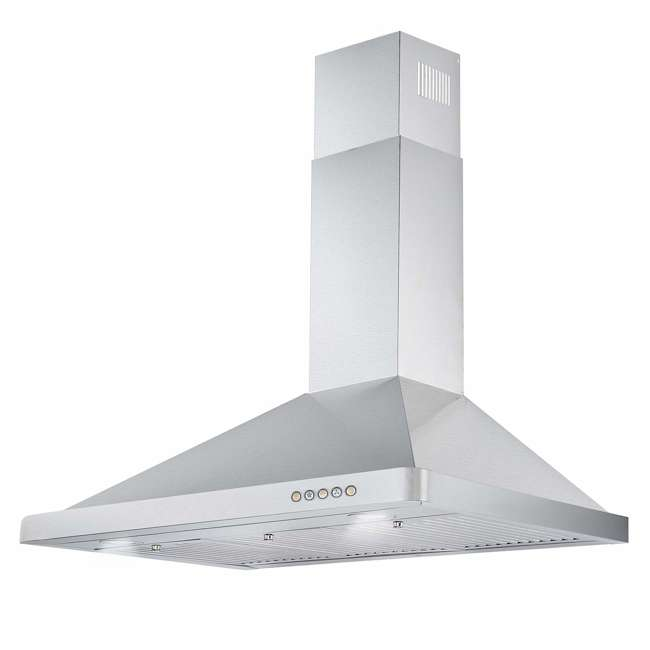 COS-63190 Cosmo COS-63190 36 Inch Wall Mount Range Hood with Push Control, Stainless Steel 5