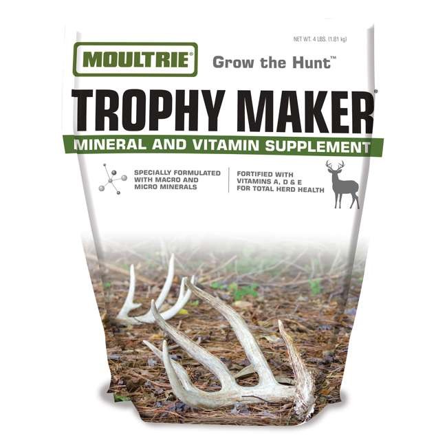 MFS-13079 Moultrie Trophy Maker Nutritional Mineral & Vitamin Supplement