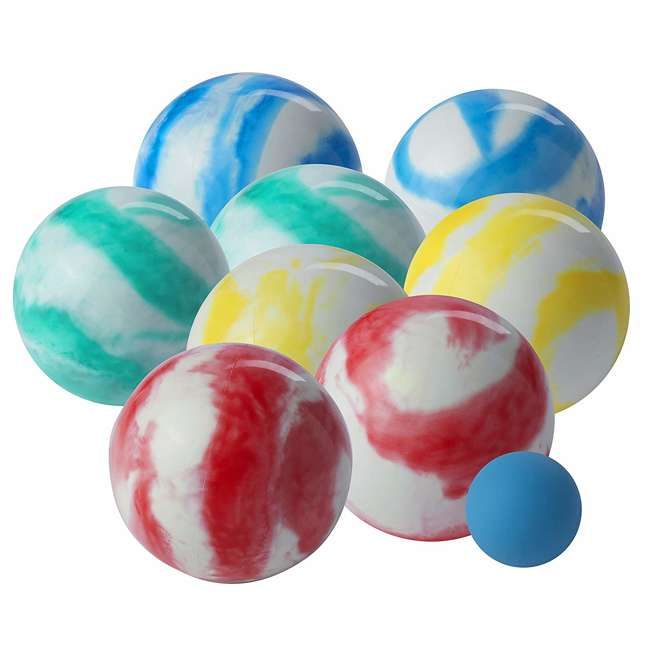 50111 Franklin Family Bocce Ball Set, Swirl