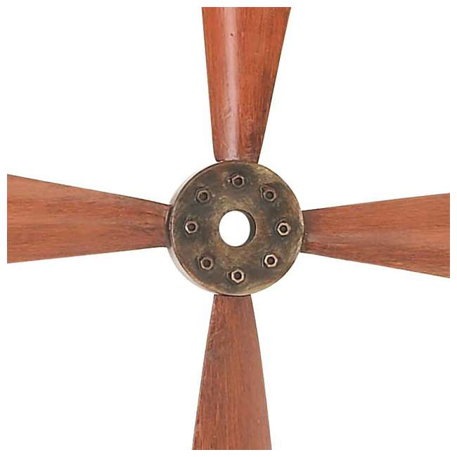UE-93230 Deco 79 Wall Hanging Decor 34-Inch Metal Airplane Propeller 2