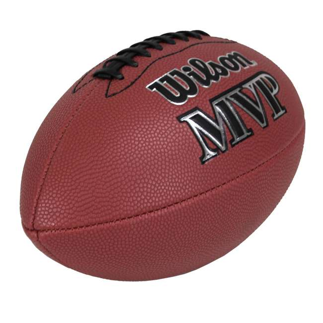WTF1410ID Wilson MVP Junior Size Leather Football 2
