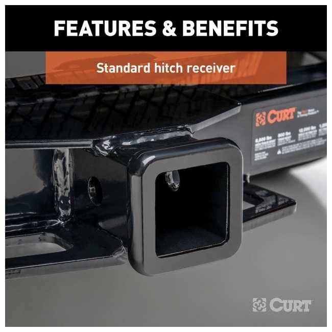 13393 Curt 13393 2 Inch Receiver Trailer Hitch for GMC Sierra and Chevrolet Silverado 3