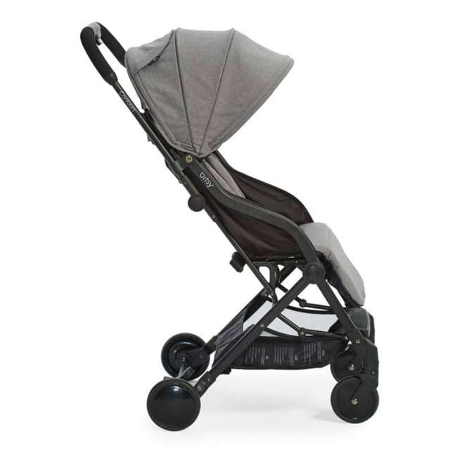 ZL034-GRN1 Contours Bitsy Lightweight Compact Folding Stroller, Granite Gray 1