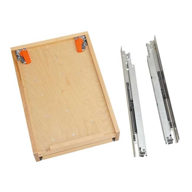 4WTCD-21SC-1 Rev-A-Shelf 4WTCD-21SC-1 18 In. Kitchen Utensil Pullout Drawer Organizer, Large 1