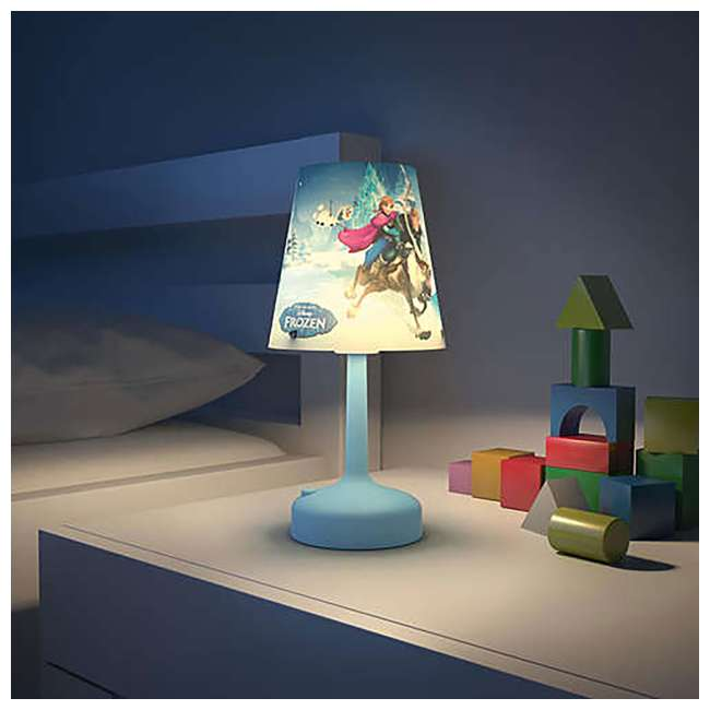 PLC-7175190U0 + PLC-7179608U0 + PLC-7175101U0 Philips Disney Dory Light with Frozen Lamp and Lampshade and Anna Nightlight 9