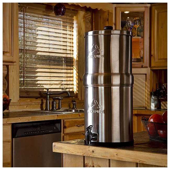 ALEXAPURE-2394 Alexapure Pro Stainless Steel Water Filtration System 1
