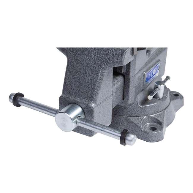 WIL-28821 Wilton 28821 5.5 Inch Jaw Width Anvil Reversible Swivel Base Work Bench Vise 3