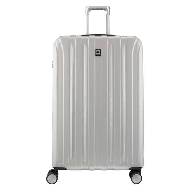 """00207183011 DELSEY Paris Titanium 29"""" Expandable Checked Spinner Rolling Luggage Suitcase"""