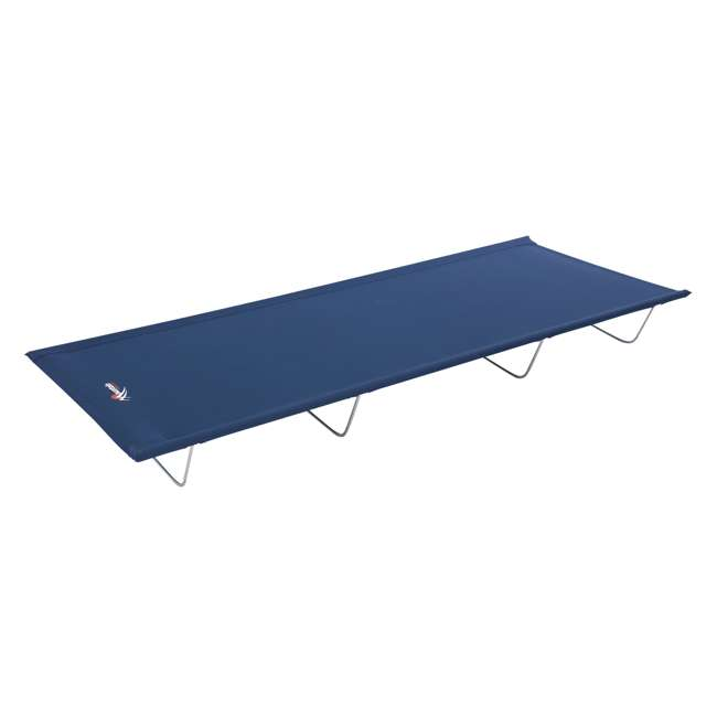 97938 Mountain Trails Base Camp Collapsible Cot & Carry Bag, Blue