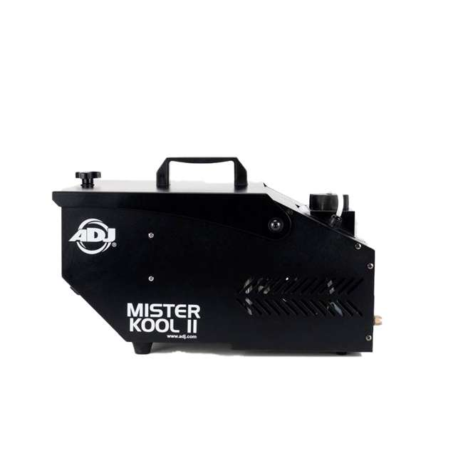 MISTER-KOOL-II-BLACK + BLACK-24BLB American DJ Mister Kool II Water Smoke Fog Machine w/ 24 Inch 20W Black Light 3
