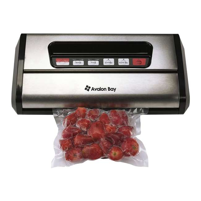 6 x FOODSEALER300S Avalon Bay FoodSealer300S Vacuum Sealer for Food Storage (6 Pack) 1