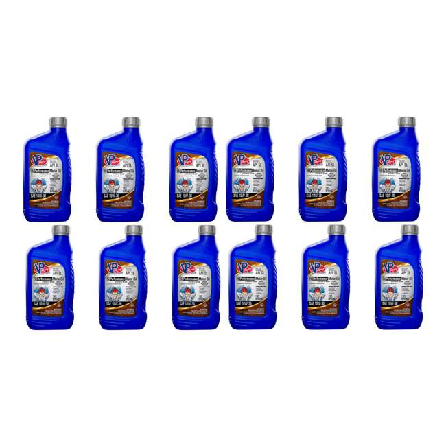 12 x 2955 VP Racing Fuels Synthetic Blend Hi Performance Motor Oil, 10W-30 (12 Pack)