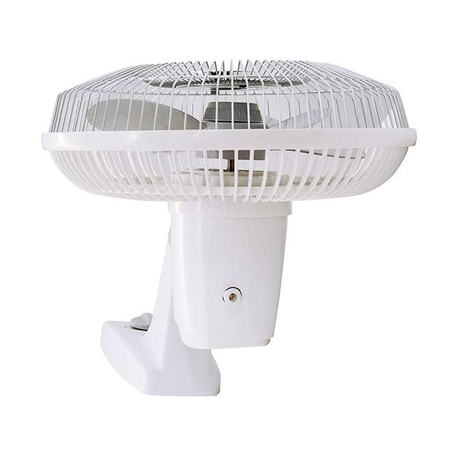 AK-9012-TX-U-B Air King 12-Inch 3-Speed 1/50 HP Commercial Oscillating Wall Fan, White (Used) 1