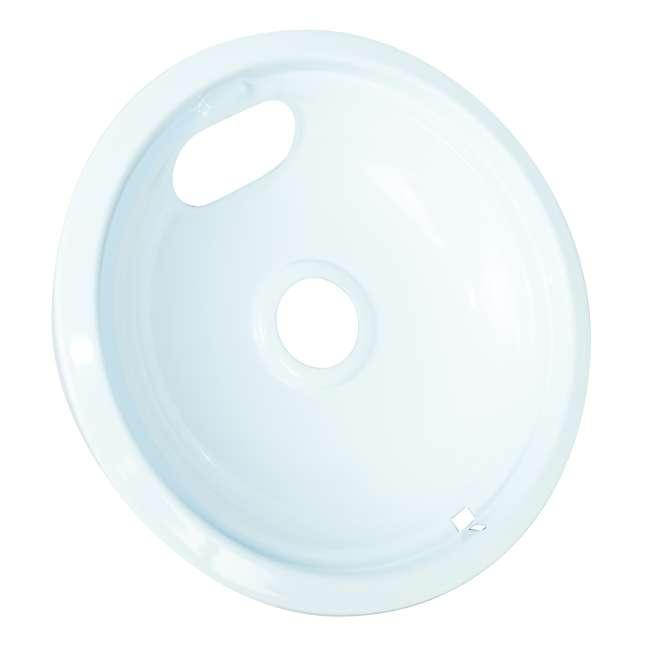 12 x P102W Range Kleen Style A Porcelain Drip Bowl, White (12 Pack) 3