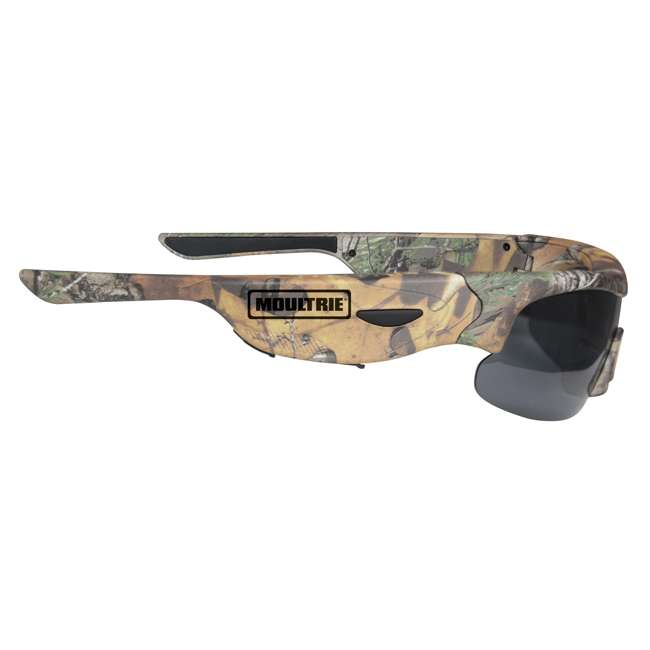 MCG-13039 Moultrie Hunting Fishing Camo Glasses w/ Built-in Video Camera | MCA-13039