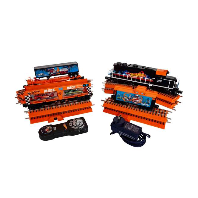 LION-684700 Lionel Trains Hot Wheels LionChief Bluetooth Train 7