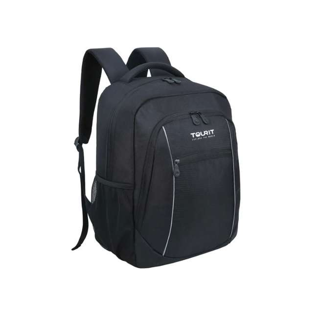 TR0260016A001 TOURIT Cuckoo Insulated Leakproof Cooler Backpack w/ Cooler 23L Capacity, Black