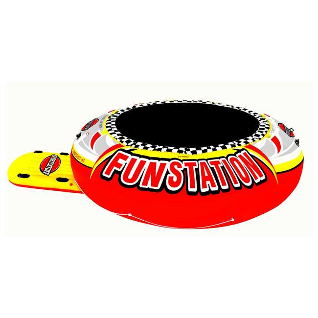 58-1015-OB Sportsstuff Funstation 10-Foot PVC Inflatable Trampoline (Open Box)