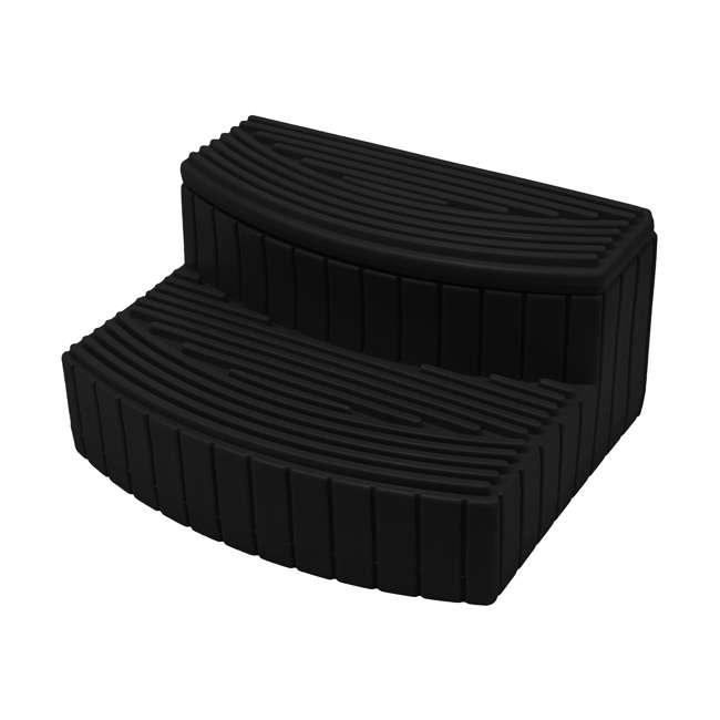 SSTEP-BLK Good Ideas Sora Steps Lightweight Plastic Outdoor & Indoor Storage Step, Black