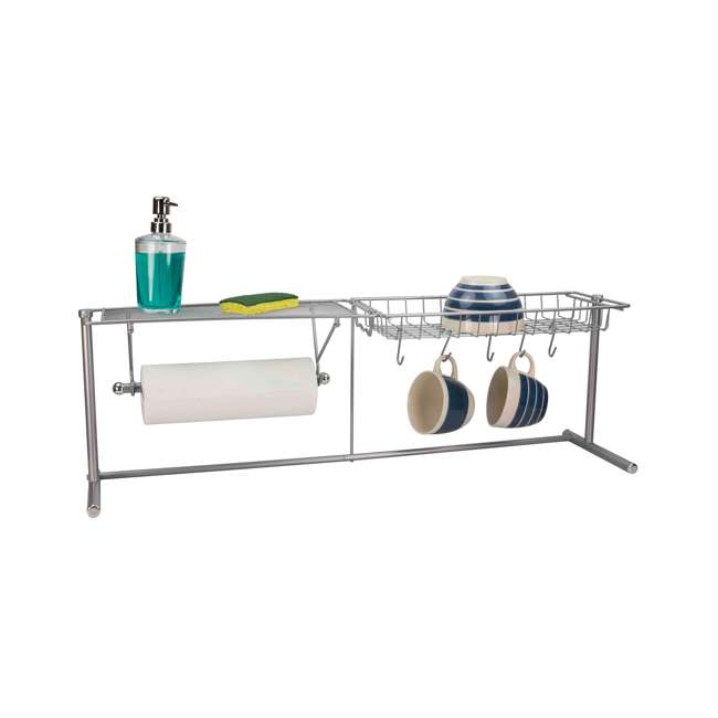 SS41254 Home Basics Kitchen Station Organization Rack (2 Pack) 1