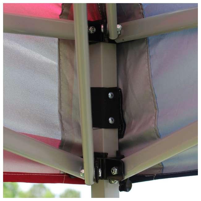 SLANT10-BL King Canopy 10 x 10 Foot Slanted Leg Canopy, Blue 2