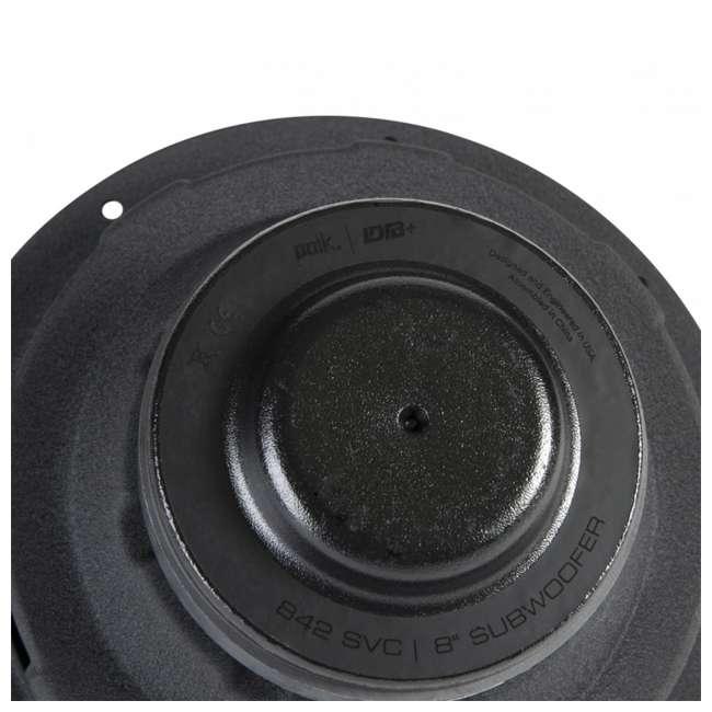 DB842-SVC Polk Audio DB+ 8 Inch 750 Watt 4 Ohm SVC Marine, ATV & Car Subwoofer 3