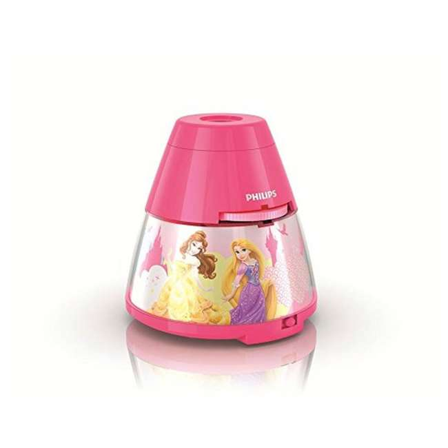 PLC-717692848 + PLC-7192428U0 Philips Disney Princess LED Nightlight with Projector and Push Touch Nightlight 1