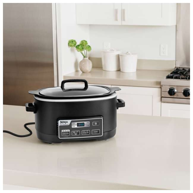 MC760_EGB-BK-RB-U-B Ninja 6 Quart Programmable Multi Cooker Plus (Certified Refurbished) (Used) 2
