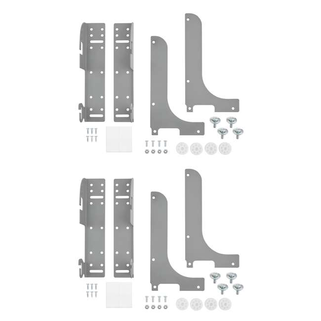5WB-DMKIT Rev-A-Shelf Door Mount Kit for Kitchen Cabinet Pull Out Wire Baskets (2 Pack)