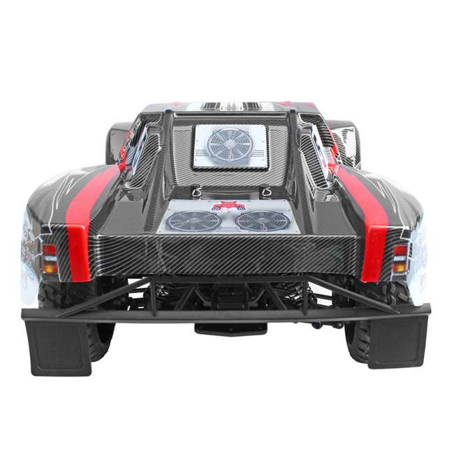 BLACKOUT-SC-RED Redcat Blackout SC Brushed Electric RC Short Course Truck 3