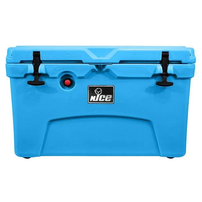 CKR-511545 nICE 45 Quart Bear Resistant Cooler, Light Blue