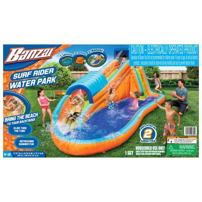 90330 Banzai Inflatable Surf Rider Aqua Park 5