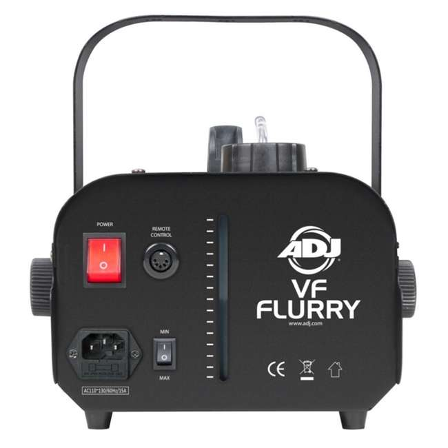 VF-FLURRY + SNOW-GAL 2) American DJ 600W Snow Machine w/ Wired Remote & American DJ Snow Fluid, 1 Gal 4
