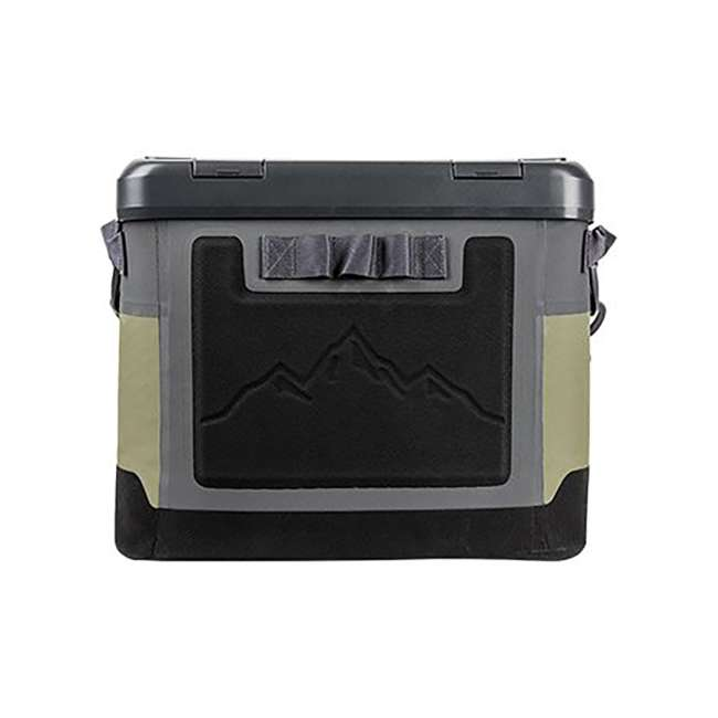 77-57016 OtterBox 20-Quart Softside Trooper Cooler with Carry Strap, Alpine Ascent Green 1
