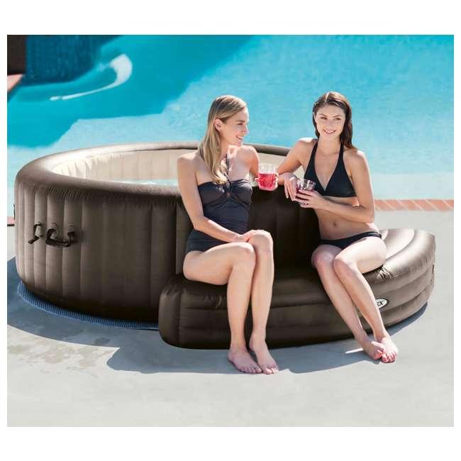 28508E Intex PureSpa Inflatable Bench Accessory | 28508E 2