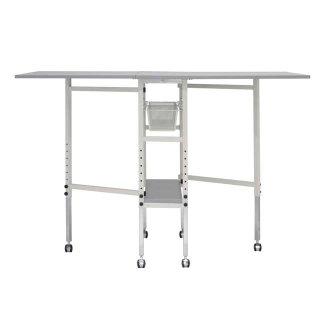 STDN-38011 Sew Ready Folding Hobby and Craft Table with Drawers 9
