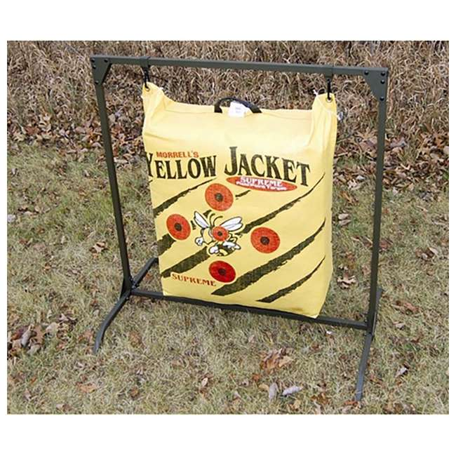 HME-BTS HME Bowhunting Archery Range 30-Inch Bag Target Stand 2