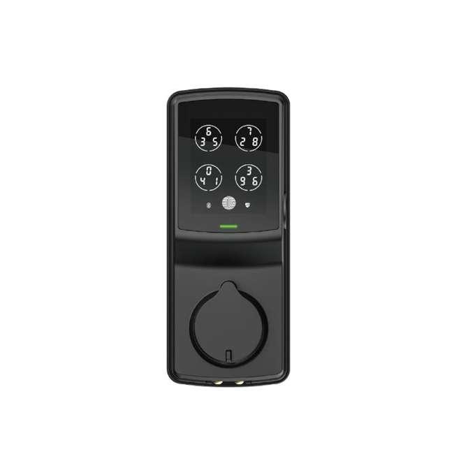 PGD728WMB Lockly Secure Pro Digital Keypad Biometric Smart WiFi Deadbolt Door Lock, Black 2