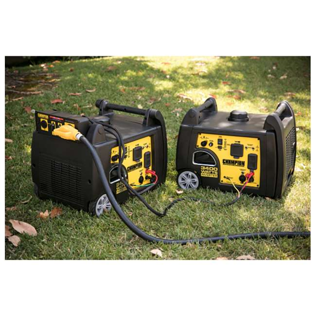 CPE-GN-100233 Champion Power Equipment 100233 3400W Inverter Generator w/ Parallel Capability 2