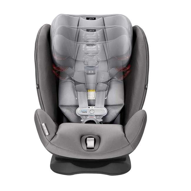 518002881 Cybex Gold Eternis S Convertible Infant Car Seat with SensorSafe Lavastone Black 5