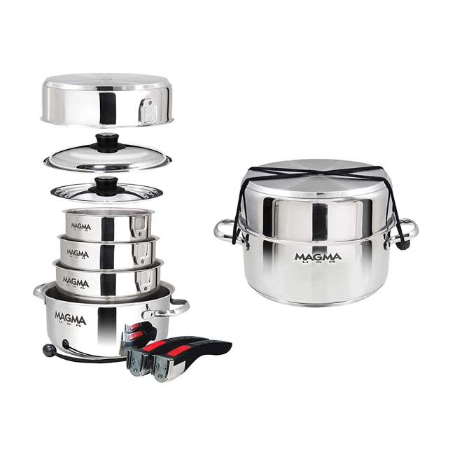 A10-360L-IND 10-pc Nesting Cookware Set 3