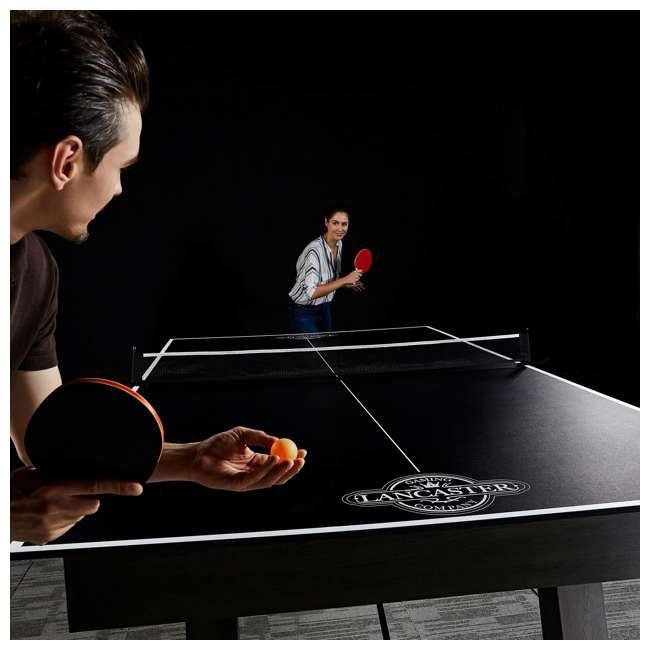 TTT212_018P Lancaster 2- Piece Indoor 2 Table Tennis Game Set w/o Paddles & Balls 1
