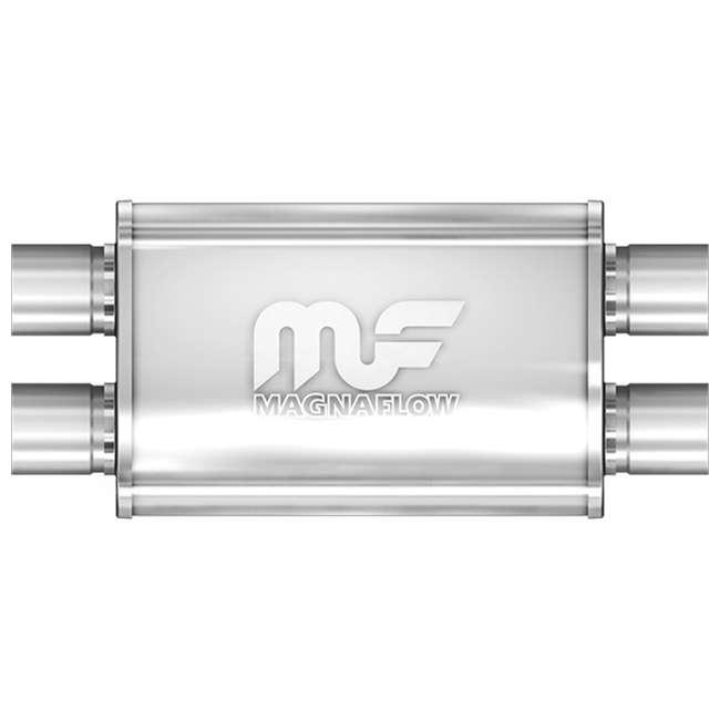 MagnaFlow 11385 4x9-Inch Oval Performance Car Universal Muffler