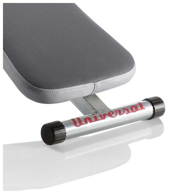 UNIVERSAL-003-9067 Universal UB100 Decline Exercise Fitness Bench with Dual Incline Positions, Gray 3