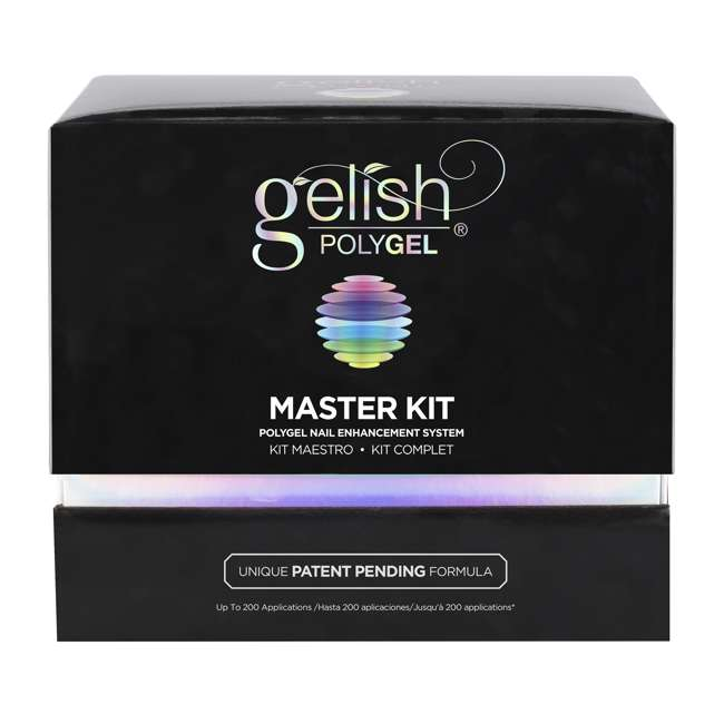 1720003-MASTERKIT Gelish PolyGel Professional Nail Technician Enhancement Master Kit 8