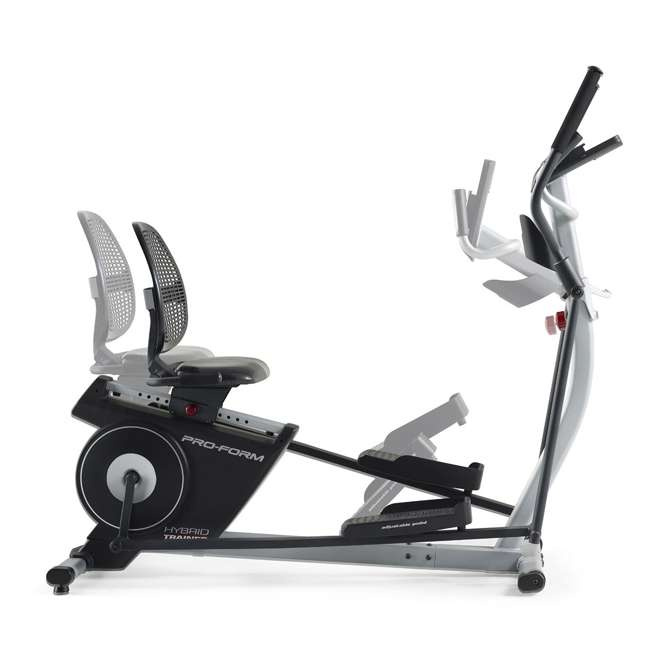 Elliptical Bike For Home Use: ProForm Hybrid Elliptical & Recumbent Bike Home Gym