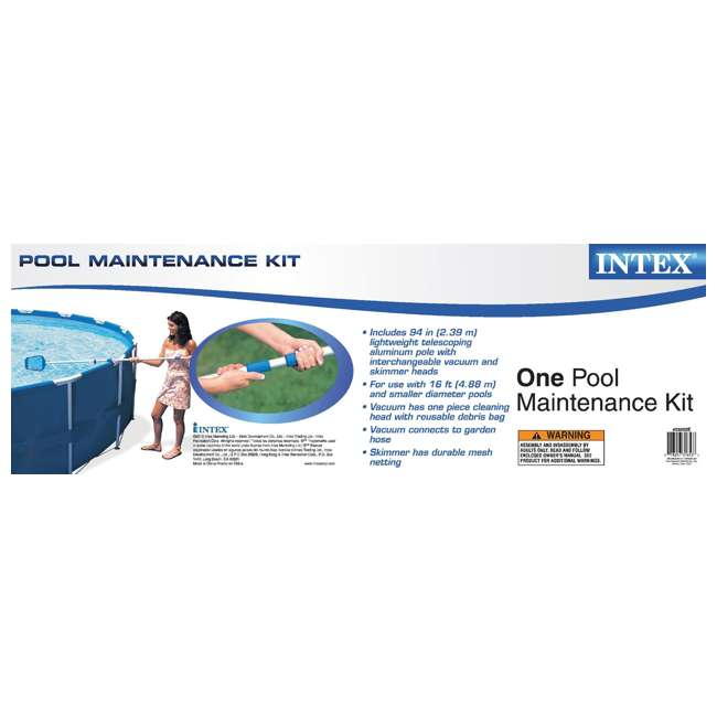 26329EH + 28002E Intex 18 Foot Ultra XTRA Pool Set and Cleaning Kit 6