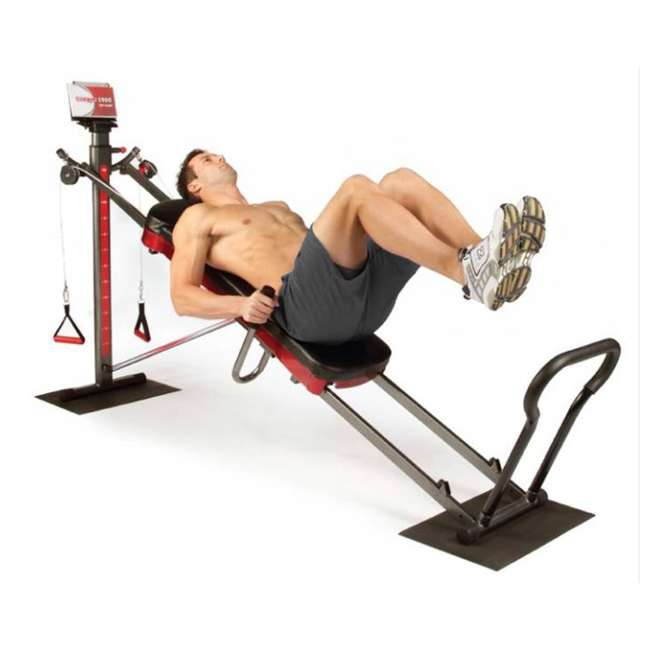 Home Exercise Equipment For Legs: Total Gym 1900 Home Leg Exercise Machine And DVDs : R1900