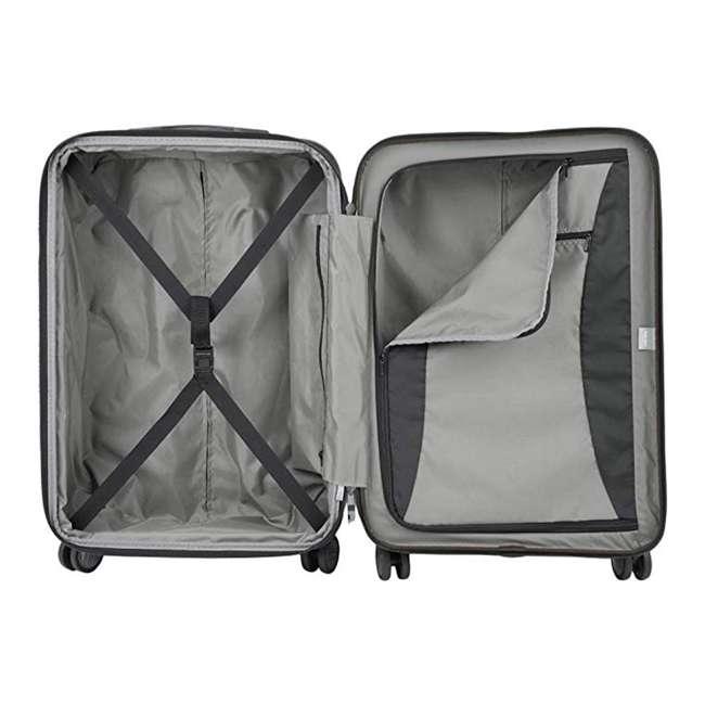 00207180000 DELSEY Paris Titanium Expandable CarryOn Spinner Rolling Luggage Suitcase, Black 4
