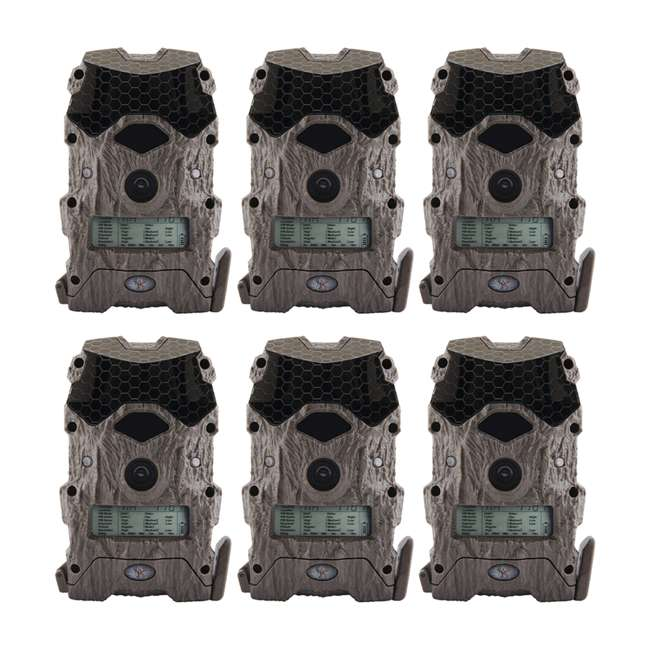 6 x WGICM0557 Wildgame Innovations Mirage Series No Glow 16 MP Outdoor Camera, Green (6 Pack)